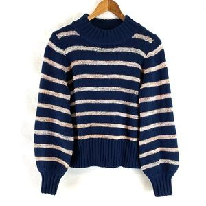 Madewell Navy striped sweater